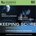 Ives and Copland CD